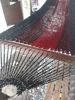 Hand crafted hammock