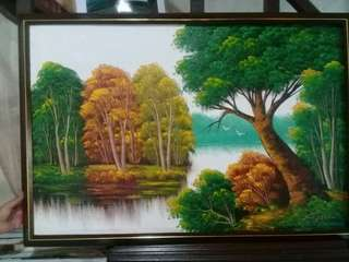 Oil Canvass Paintings