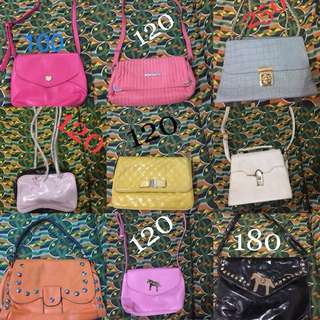 For take all sling bags