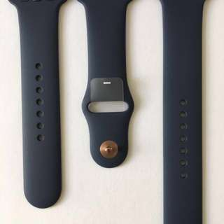 Apple Watch Sport Band Strips - Blue Cobalt - 42mm