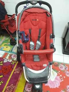 SCR 6 stroller