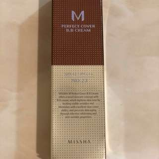 Missha Perfect Cover B.B. Cream