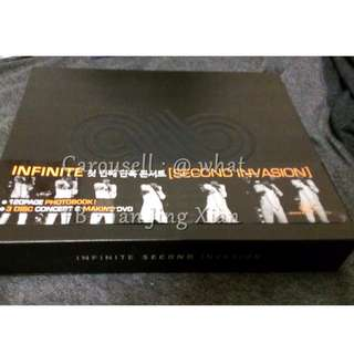 RARE INFINITE SECOND INVASION CONCERT DVD
