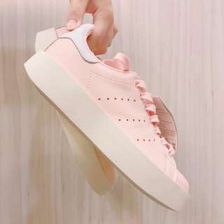 Adidas Stan Smith bold 厚底嫩粉橘