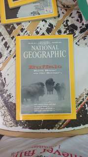 National geographic: buffalo back home on the range