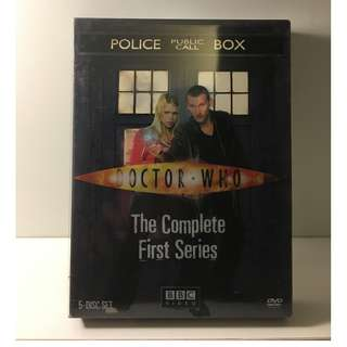 2006 Doctor Who: The Complete First Series DVD