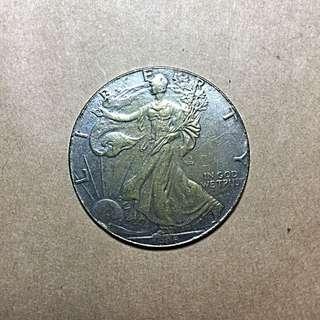 🚚 1990年正版美金