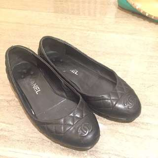 Chanel flats shoes