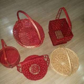 Handmade basket ($1)