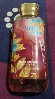 Bath & Body Works Amber Blush Shea & Vitamin E Shower Gel