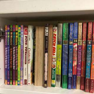 Bunch of books for sale