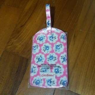 Cath kidson luggage tag