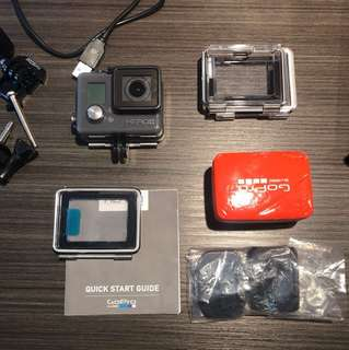 GOPRO AND ACCESSORIES