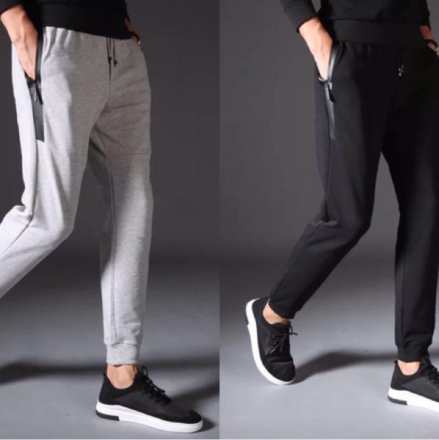 特價299 窄版縮小腿戶外休閒棉長褲