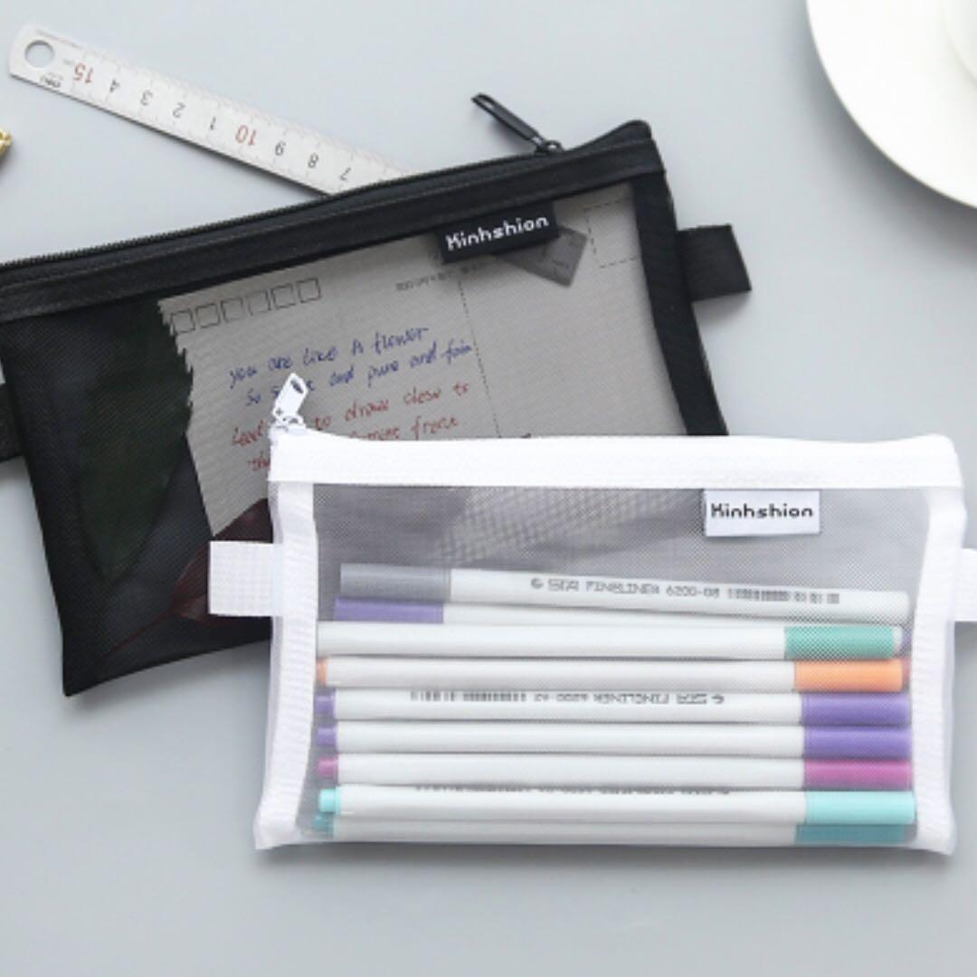77 tumblr basic nylon wire mesh pencil case bulletin board