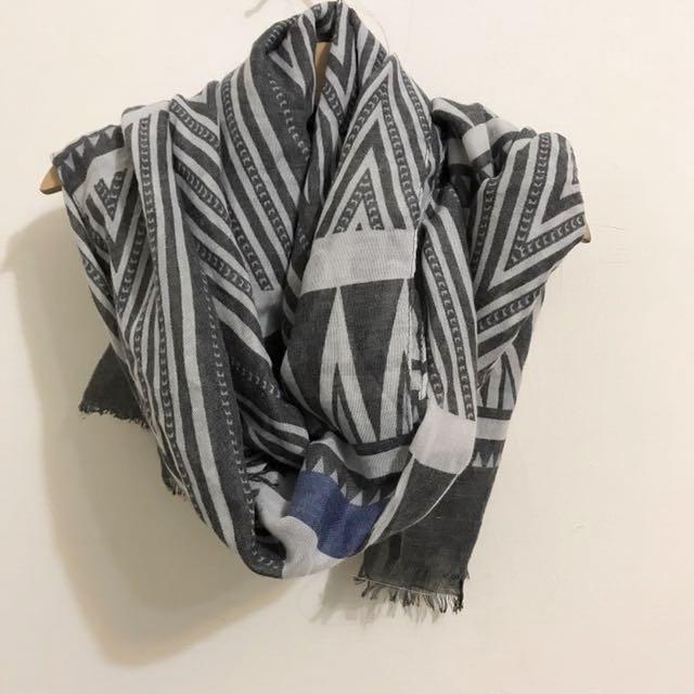 幾何圖形圍巾