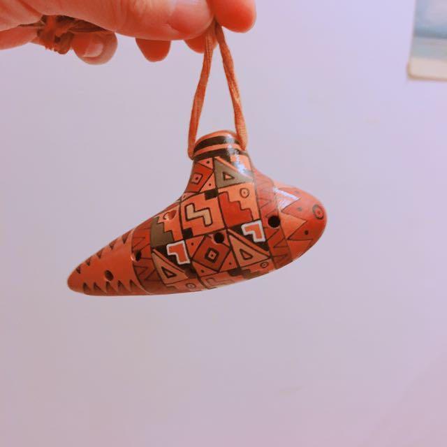秘魯製陶笛