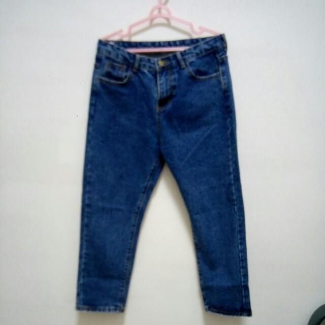 二手寬鬆牛仔褲#舊愛換新歡#有超取最好買#好想找到對的人