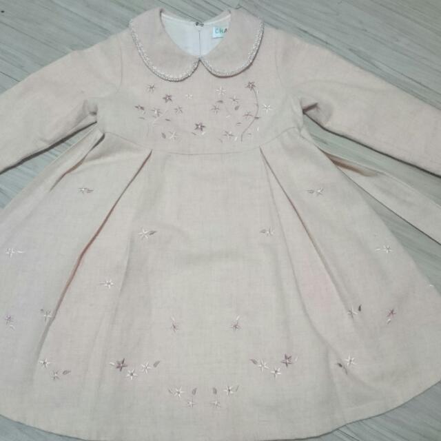 秋冬小朋友洋裝