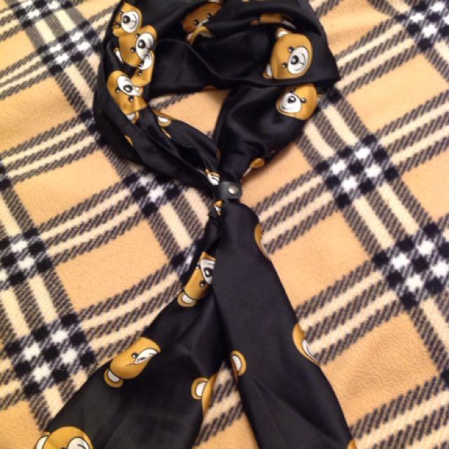日本熊熊圍巾