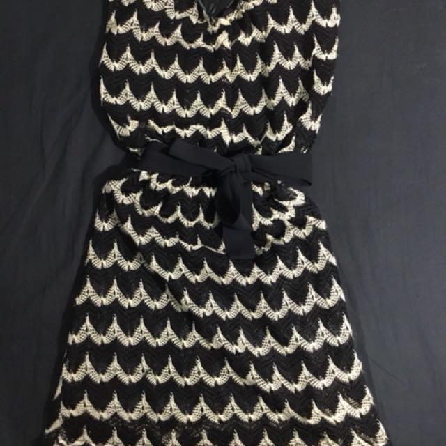典雅針織洋裝