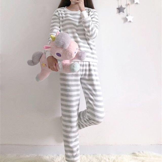 珊瑚絨睡衣+褲