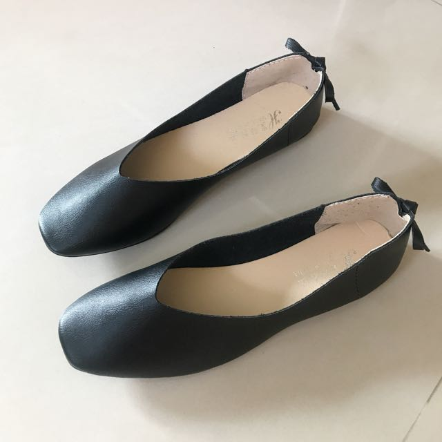 黑色和尚平底鞋 全新品39