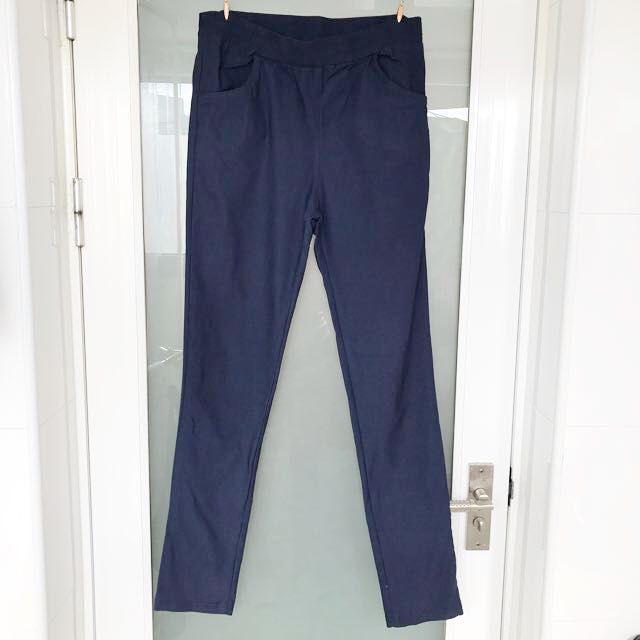 藏藍色內搭褲 全新品