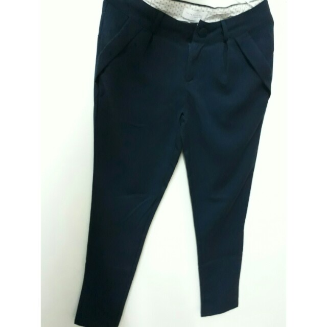 東京著衣 長褲 深藍