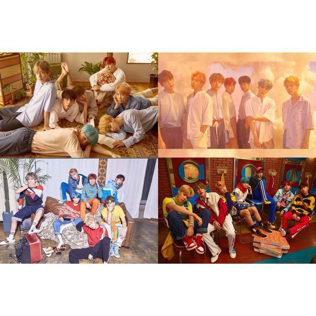 防彈少年團 BTS Love Yourself 海報 摺疊
