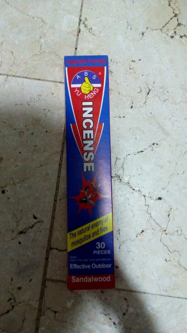 ABS Incense Mosquito & Flies Repellant