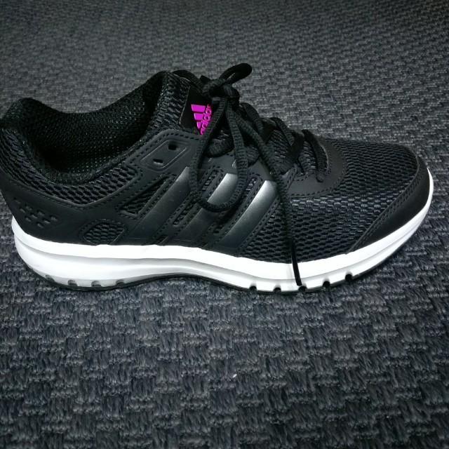 降價!ADIDAS愛迪達女2017黑色運動鞋慢跑鞋UK4/22.5