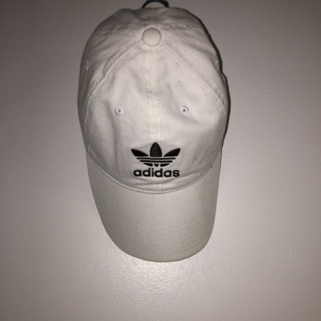Adidas White Baseball Cap New Urban Outfitters