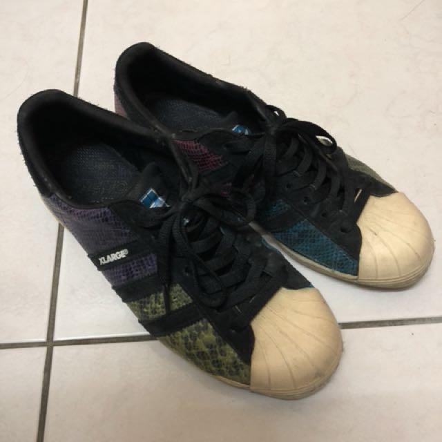 Adidas彩蛇聯名xlarge