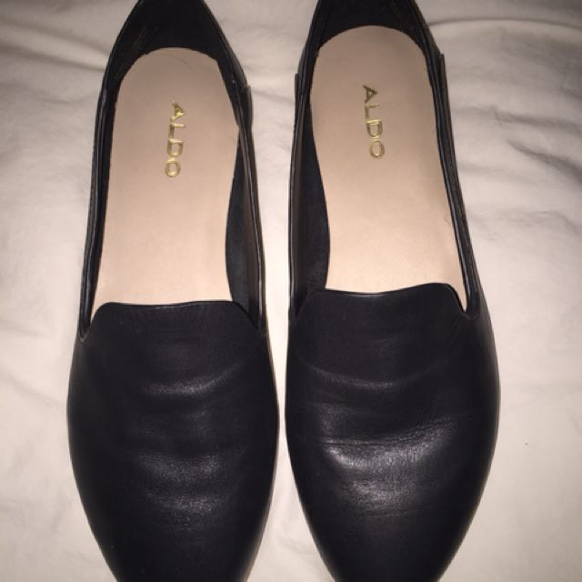 Aldo leather loafers - size 7.5