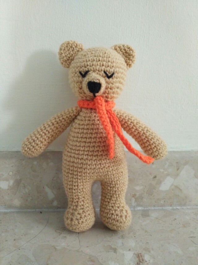 Bear amigurumi pattern, Bear crochet pattern | 853x640