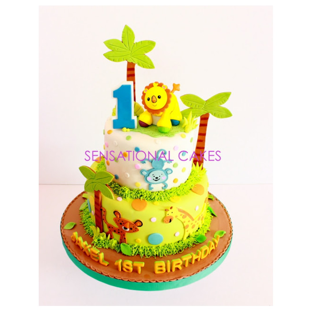 Admirable Animals Kingdom Lion King Children Animals Theme Cake Funny Birthday Cards Online Fluifree Goldxyz