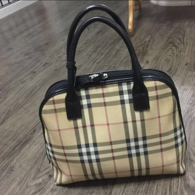 946ee252f04 Authentic Burberry Nova Check Small Orchard Bag, Luxury, Bags ...