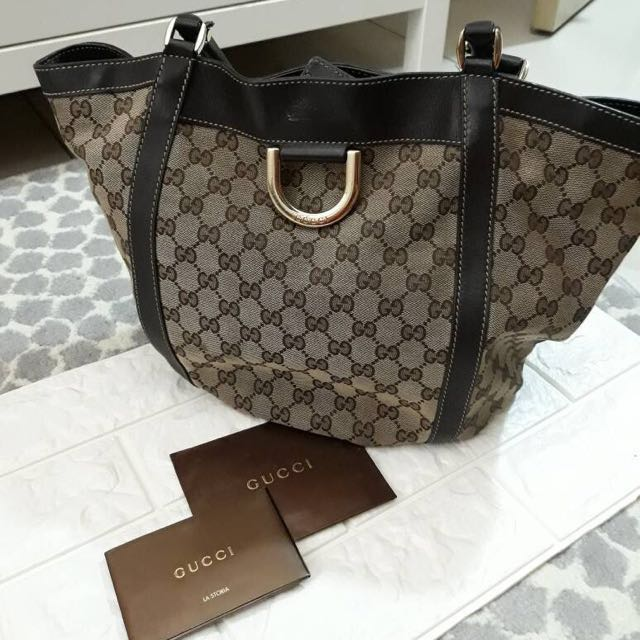 AUTHENTIC GUCCI GG HOBO