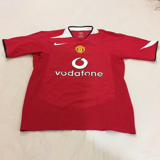 best sneakers 933d1 d54f8 Authentic Manchester United Jersey Vodafone