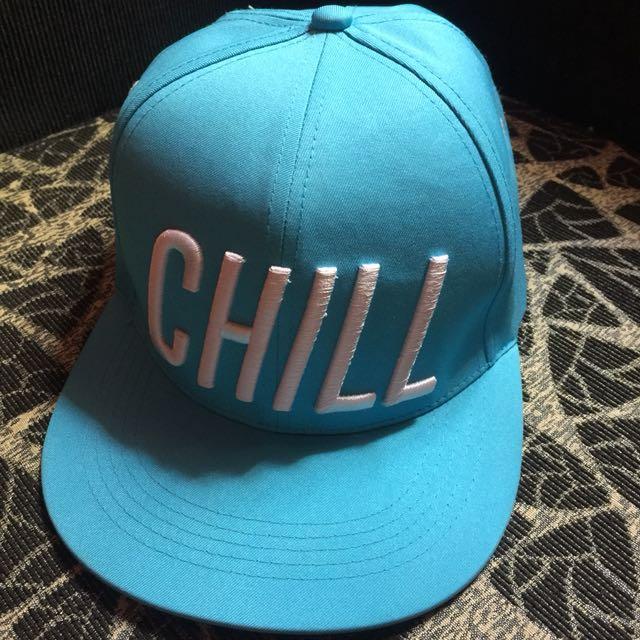 Authentic Penshoppe Chill Light Blue Bull Cap