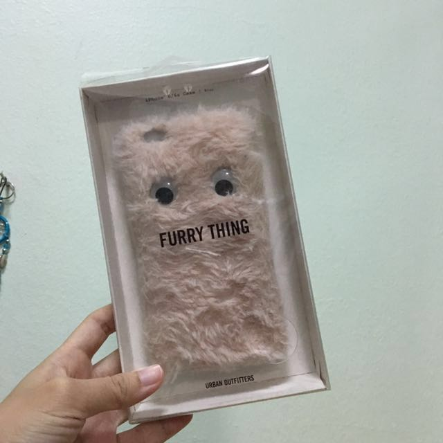 Authentic Urban Outfitters iPhone 6/6s Fur case cover casing