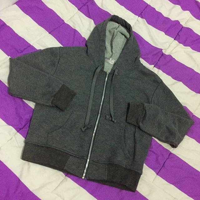 Avenue hoodie jaket grey