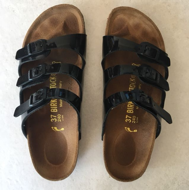 Barely Used Birkenstocks Florida Size 37 Narrow