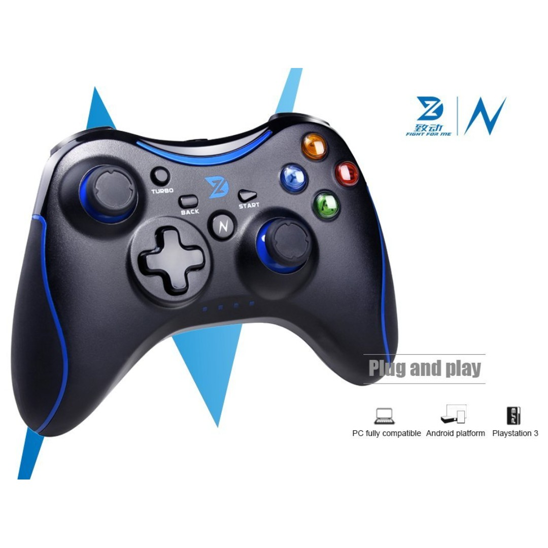 BN) PC / PS3 / Android / Steam / Mac Wireless Controller