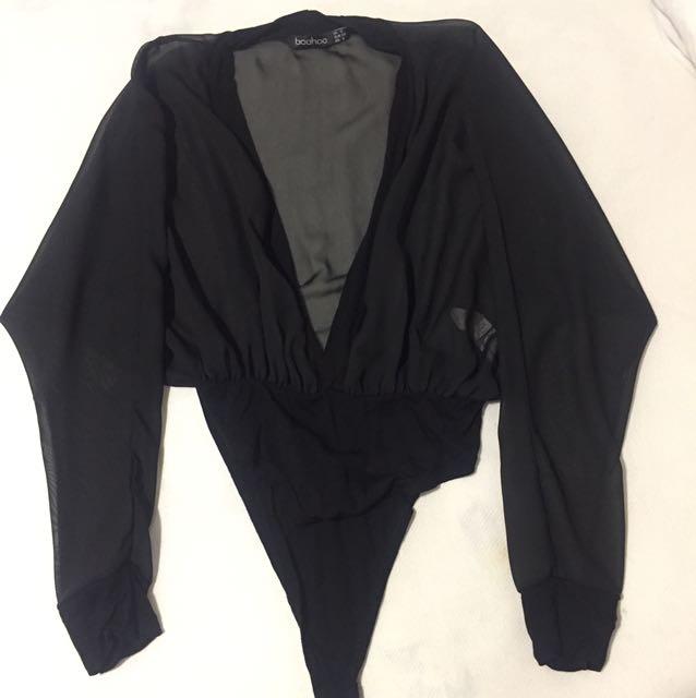 Boohoo body blouse