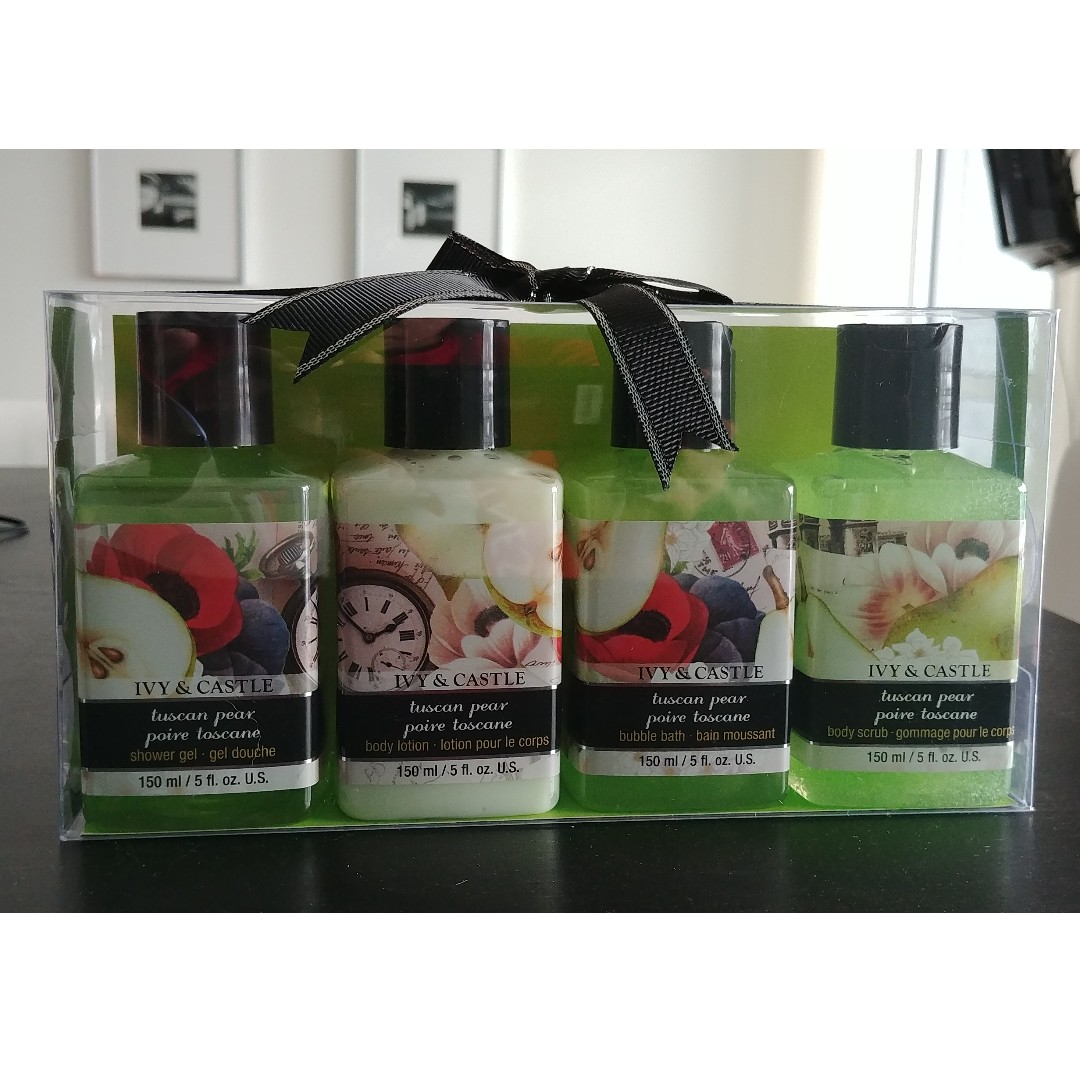 Brand new Ivy & Castle Bath and Body Gift Set