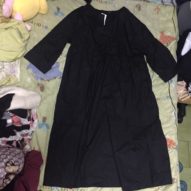 🔴私物🔴C yard暗黑系落肩連身洋裝 娃娃洋裝