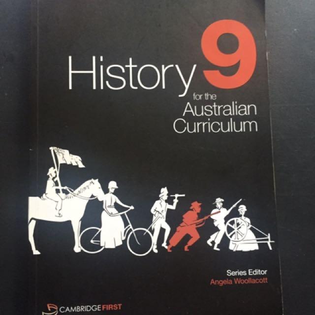 Cambridge History 9 for the Australian Curriculum