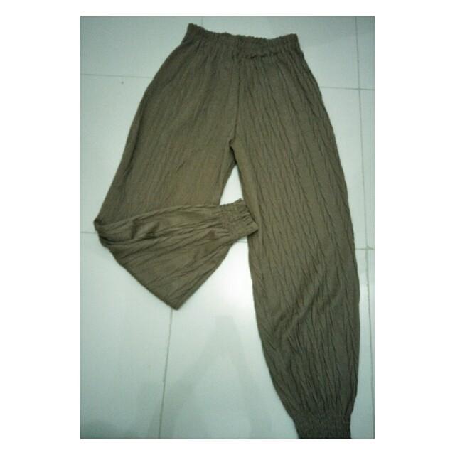 celana panjang wanita casual (preloved)